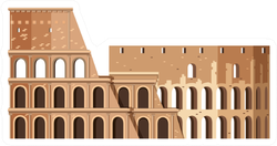 Roman Colosseum Sticker