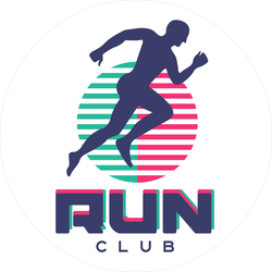 Run Club Sticker