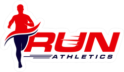 Running Athletics Sticker
