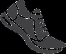 Running Shoe Sneaker Sticker