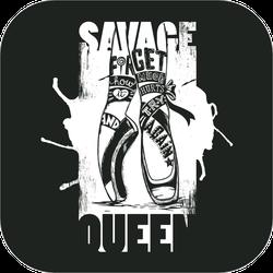 Savage Queen Dancing Sticker