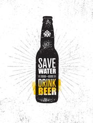 Save Water. Drink Beer. Sticker