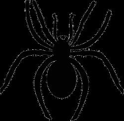 Scary Spider Halloween Sticker