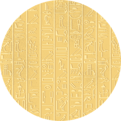 Seamless Pattern Of Egyptian Hieroglyphics Sticker