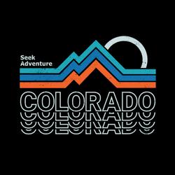Seek Adventure Colorado Sticker