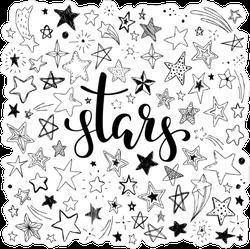 Set of Stars Sticker