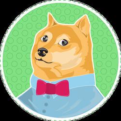 Shiba Inu Doge Meme Sticker