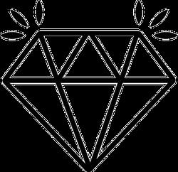 Shining Diamond Sticker