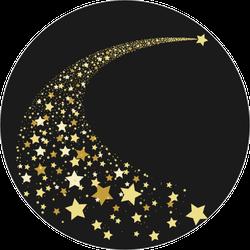 Shooting Star Path Sticker