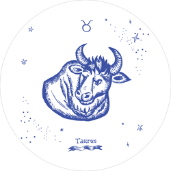 Simple Taurus Design Sticker