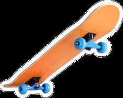 Skateboard Deck Sticker