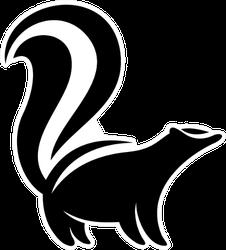 Skunk Logo Sticker