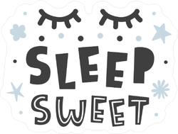 Sleep Sweet Baby Sticker