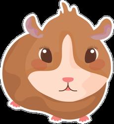 Small Hamster Sticker