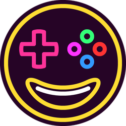Smiling Gamer Emoji Sticker