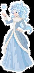 Snow Queen Fairy Sticker
