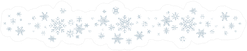 Snowflakes White Winter Background Sticker
