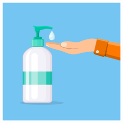 Soap Dispenser Sticker