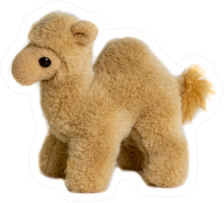 Soft Toy Camel For Children Sticker