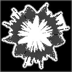 Sound Wave Effect Sticker