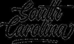 South Carolina Text Stickers