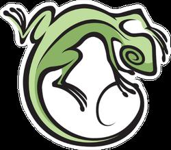 Southwest Lizard Sticker