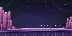 Space Background Sticker