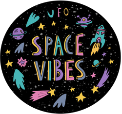 Space Vibes Sticker