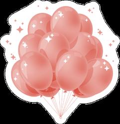 Sparkle Balloons Sticker