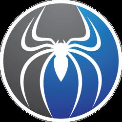Spider Logo Sticker