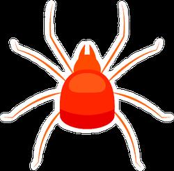 Spider Mite Icon Sticker