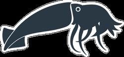 Squid Icon Concept Sticker
