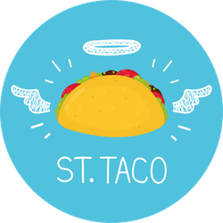 St. Taco Sticker