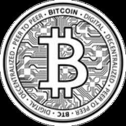 Standard Bitcoin Sticker