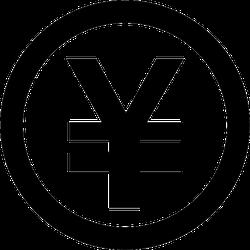 Standard Yen Symbol Sticker