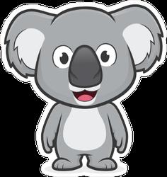 Standing Koala Sticker