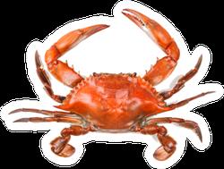 Steamed Blue Crab Sticker