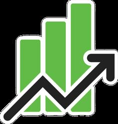 Stock Market Exchange Sticker