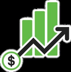 Stock Market Growth Symbol