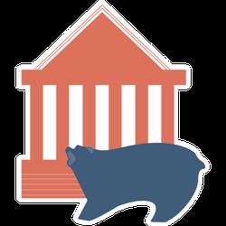 Stock Market Sticker
