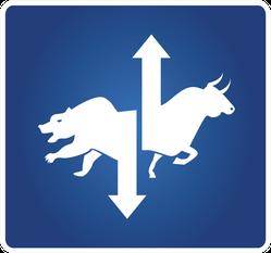 Stock Market Symbol Sticker