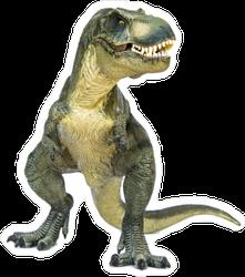 Stomping T-Rex Sticker