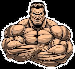 Strict Bodybuilding Coach Sticker