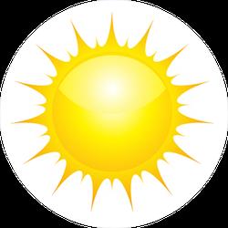 Strong Sunlight Sticker
