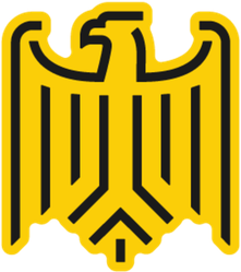 Stylized Eagle From German Coat Of Arms Sticker