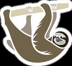 Stylized Sloth Sticker