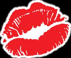 Succulent Red Lips Sticker