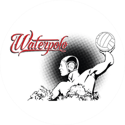 Summer Kinds Of Sports Water Polo Sticker