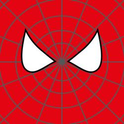 Superhero Face Sticker
