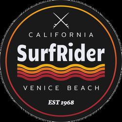 Surf Rider Venice Beach Sticker
